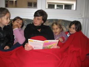 Lesestunde mit Ilona
