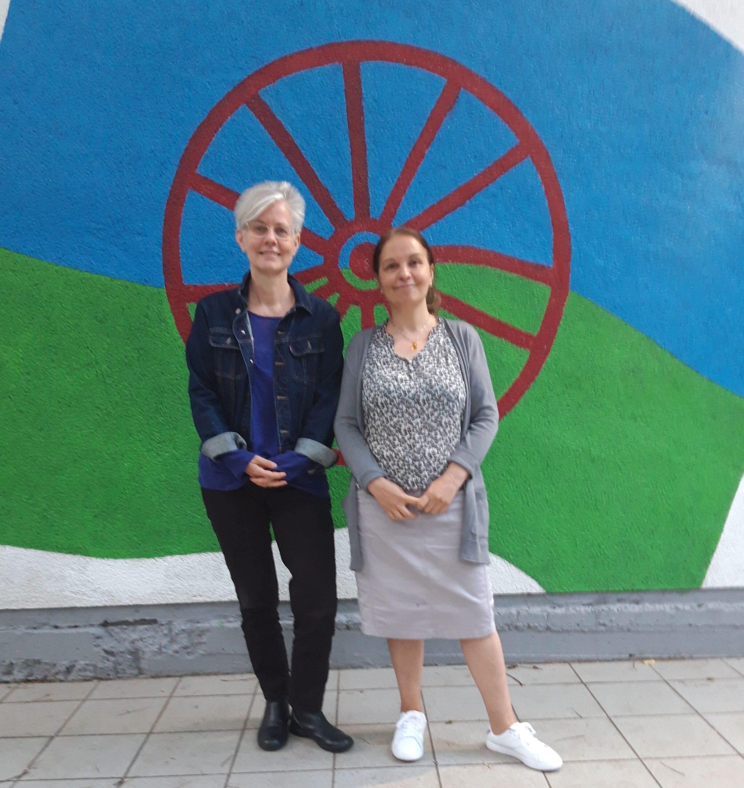 Die neu gewählten Sprecherinnen des Rom e.V. (v.l. Simone Treis, Beata Burakowska) © Rom e.V.